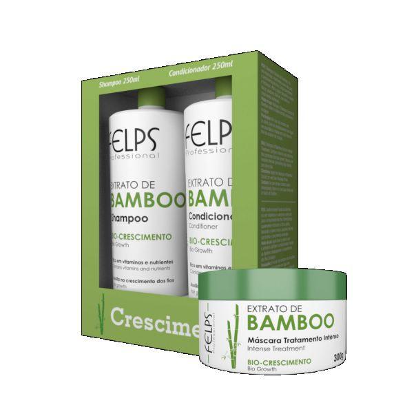 Felps Kit Manutenção Extrato de Bamboo (3 Produtos)