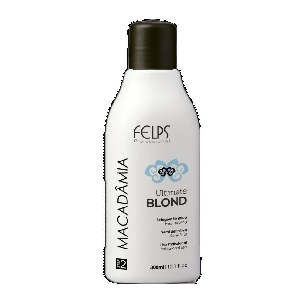 Felps Macadâmia Ultimate Blond Selagem Térmica 300ml