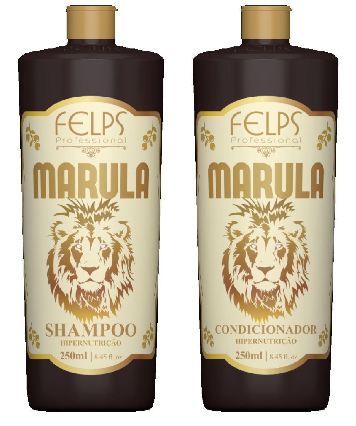 Kit Marula Felps Duo Hipernutrição 2x250ml