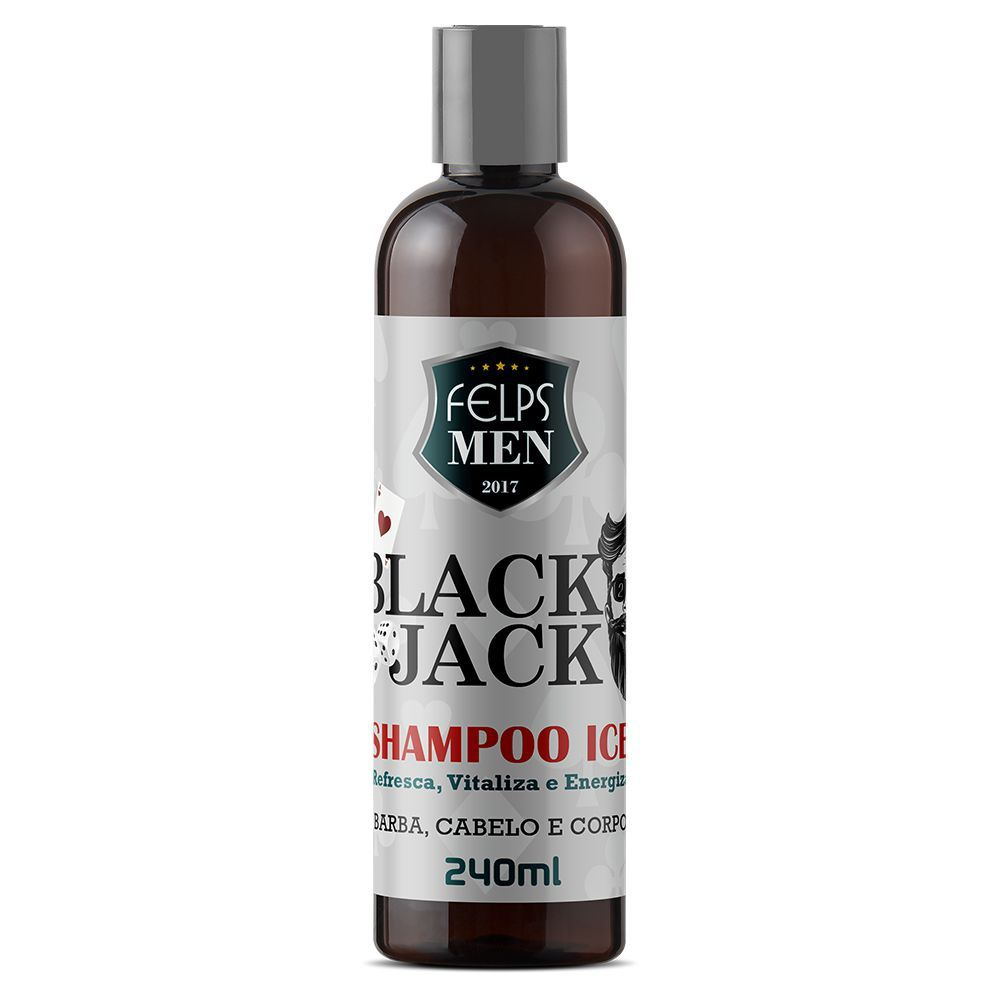 Shampoo Ice Felps Men Black Jack 240ml