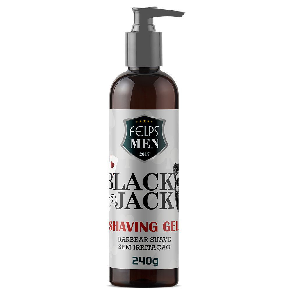 Felps men black jack shaving gel 240g