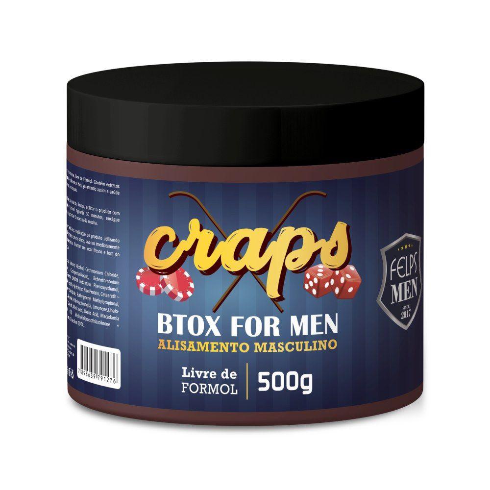 Botox Masculino Felps Men Craps xbtx 500g