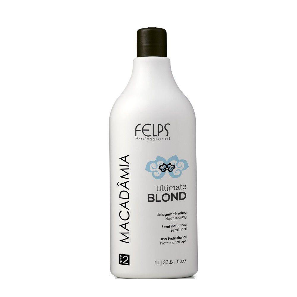 Felps Macadâmia Ultimate Blond Selagem Térmica 1000ml