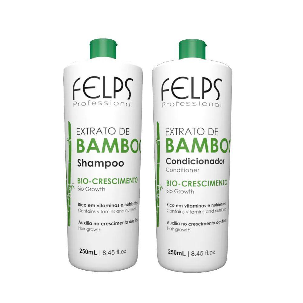 Felps Shampoo e Condicionador Extrato de Bamboo 2x250ml