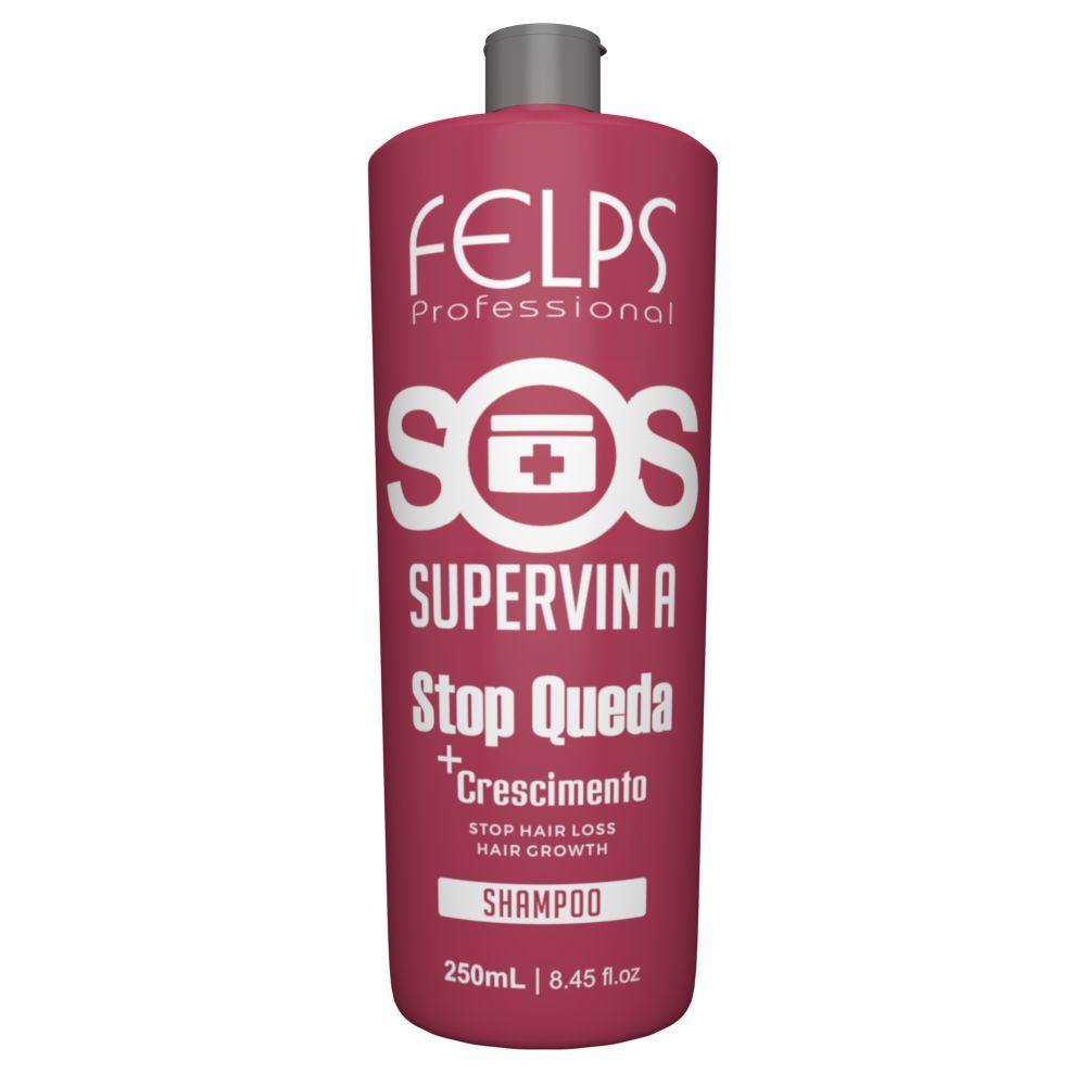 Shampoo Felps sos Stop Queda Supervin A 250ml