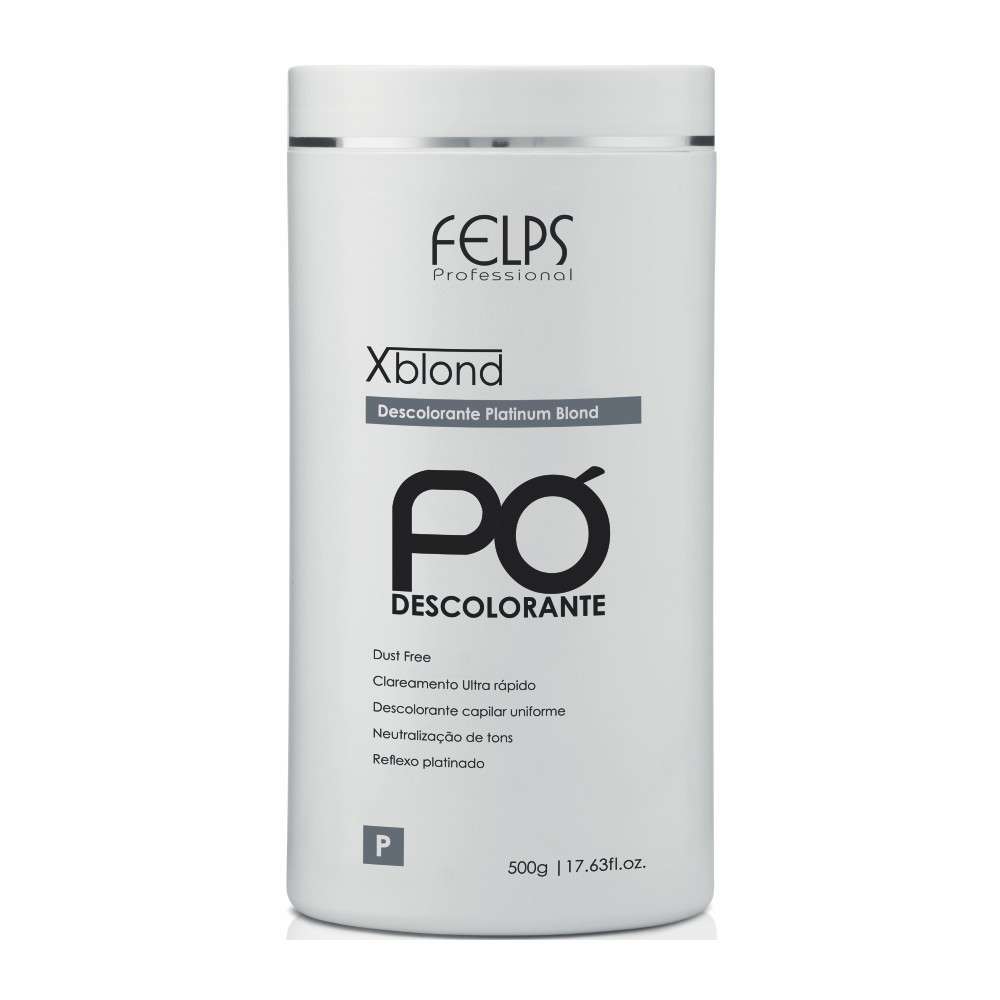 PÓ DESCOLARANTE PLATINUM BLOND FELPS 500G