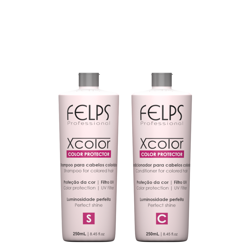 Kit Felps X-Color Home Care 2x250ml