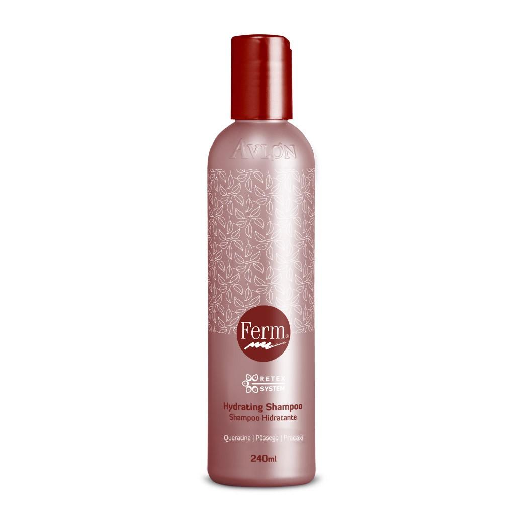 Avlon Ferm Hydrating Shampoo 240ml