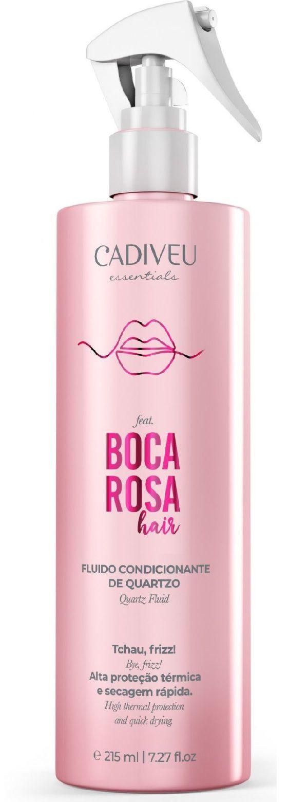 Leave-in Fluido Condicionante Cadiveu Boca Rosa Quartzo 215ml