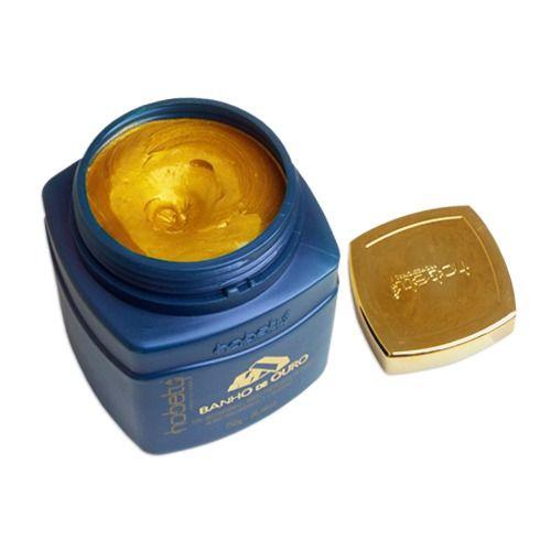 Hobety Mascara Banho de Ouro 750g