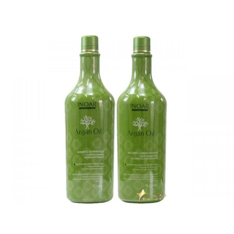 Shampoo e Condicionador Inoar Argan Oil (2 Produtos)