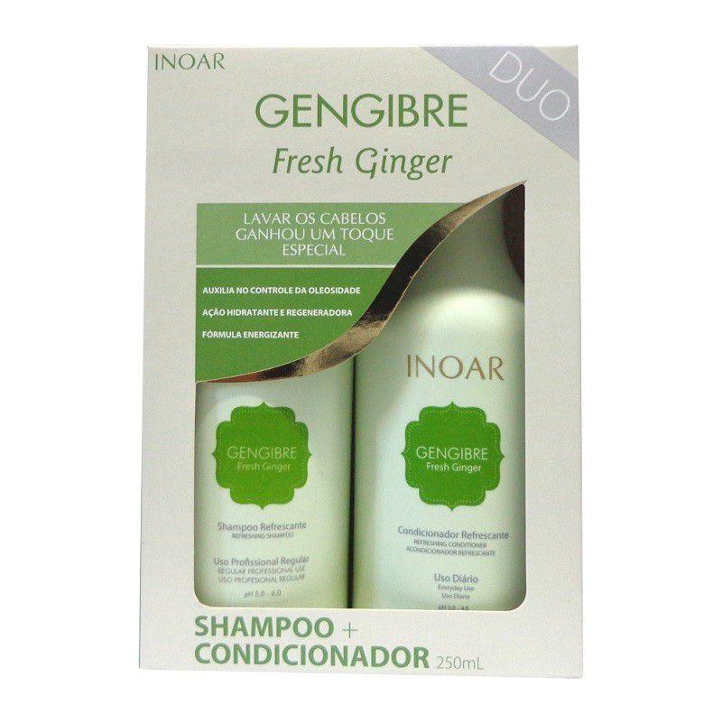 Inoar DUO Gengibre Fresh Ginger Shampoo + Condicionador 250ml