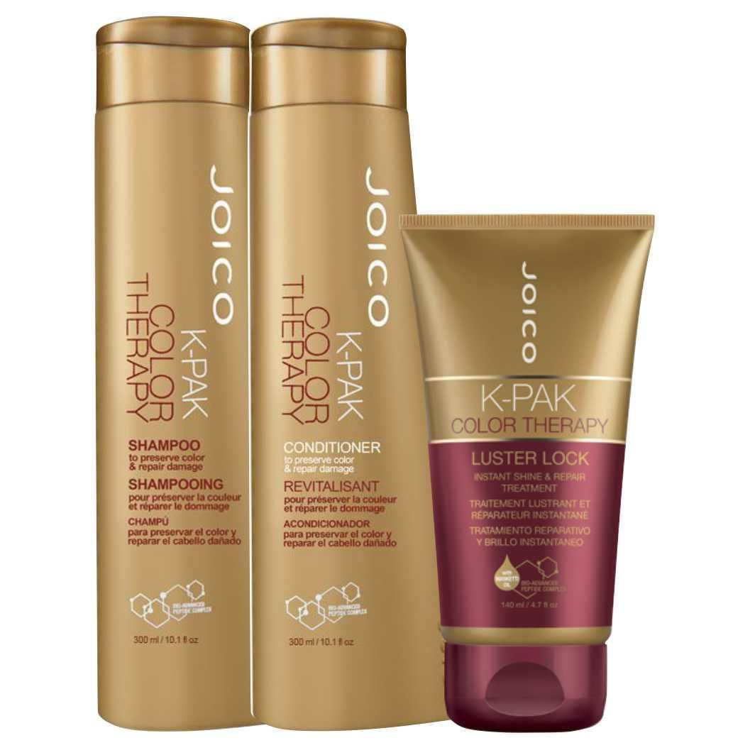 Joico K-Pak Color Therapy Shampoo, Condicionador e Tratament