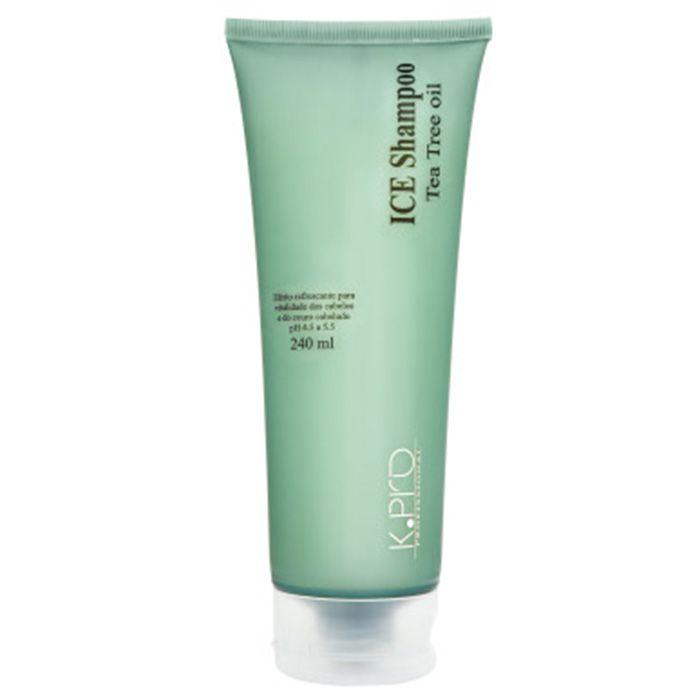 K.PRO Ice Shampoo com Tea Tree OIL 240ML