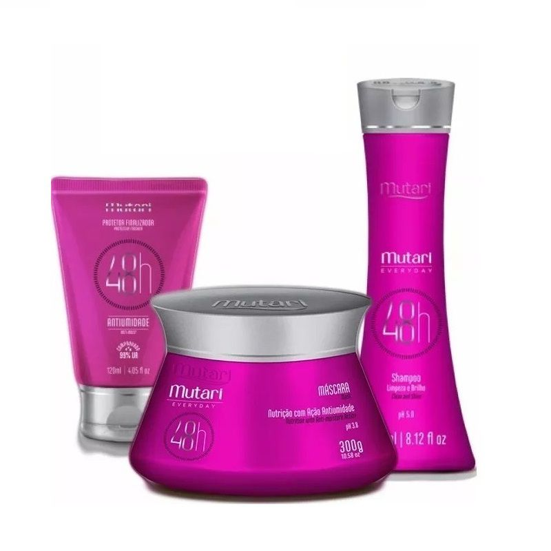 Kit 48h Everyday Mutari Fast Hair (3 Itens)