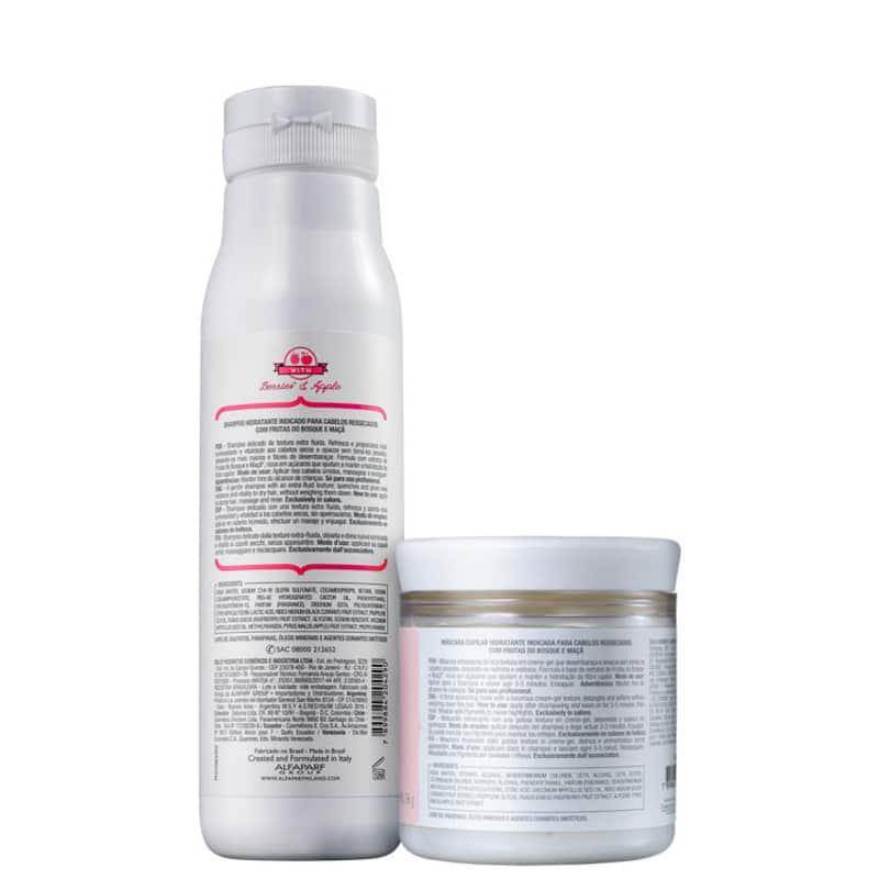 Kit Alfaparf Precious Nature Thirsty Hair Duo (2 Produtos)