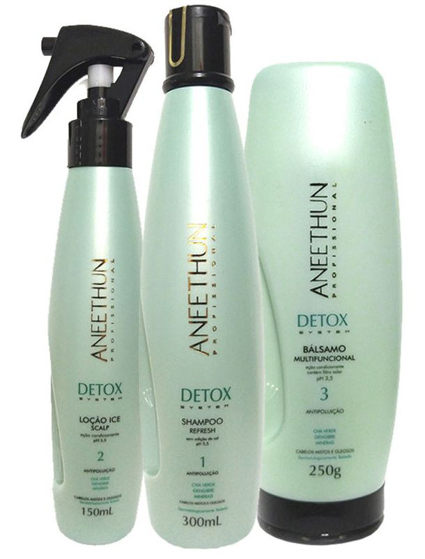 Kit Aneethun Detox (3 produtos)