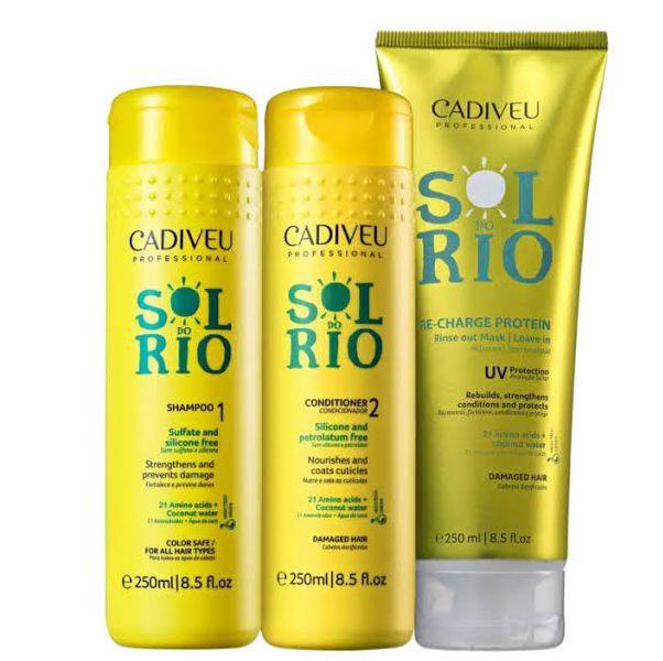 Kit Cadiveu Sol do Rio Home Care