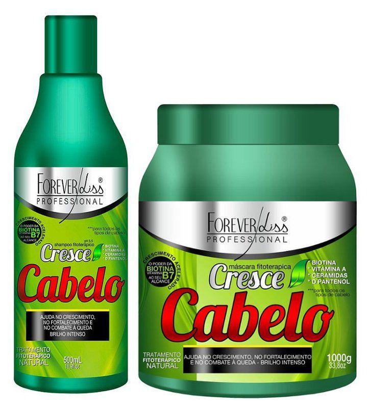 Kit Cresce Cabelo Forever Liss ( Grande )