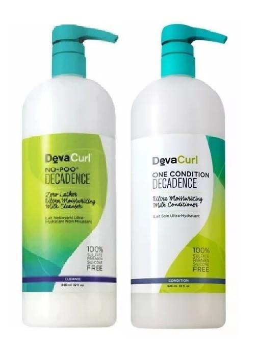 Kit Deva Curl Decadence Now Poo E One Condition 1000ml