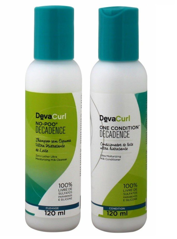 Kit Deva Curl Decadence Now Poo E One Condition 120ml