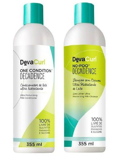 Kit Deva Curl Decadence Now Poo E One Condition 355ml