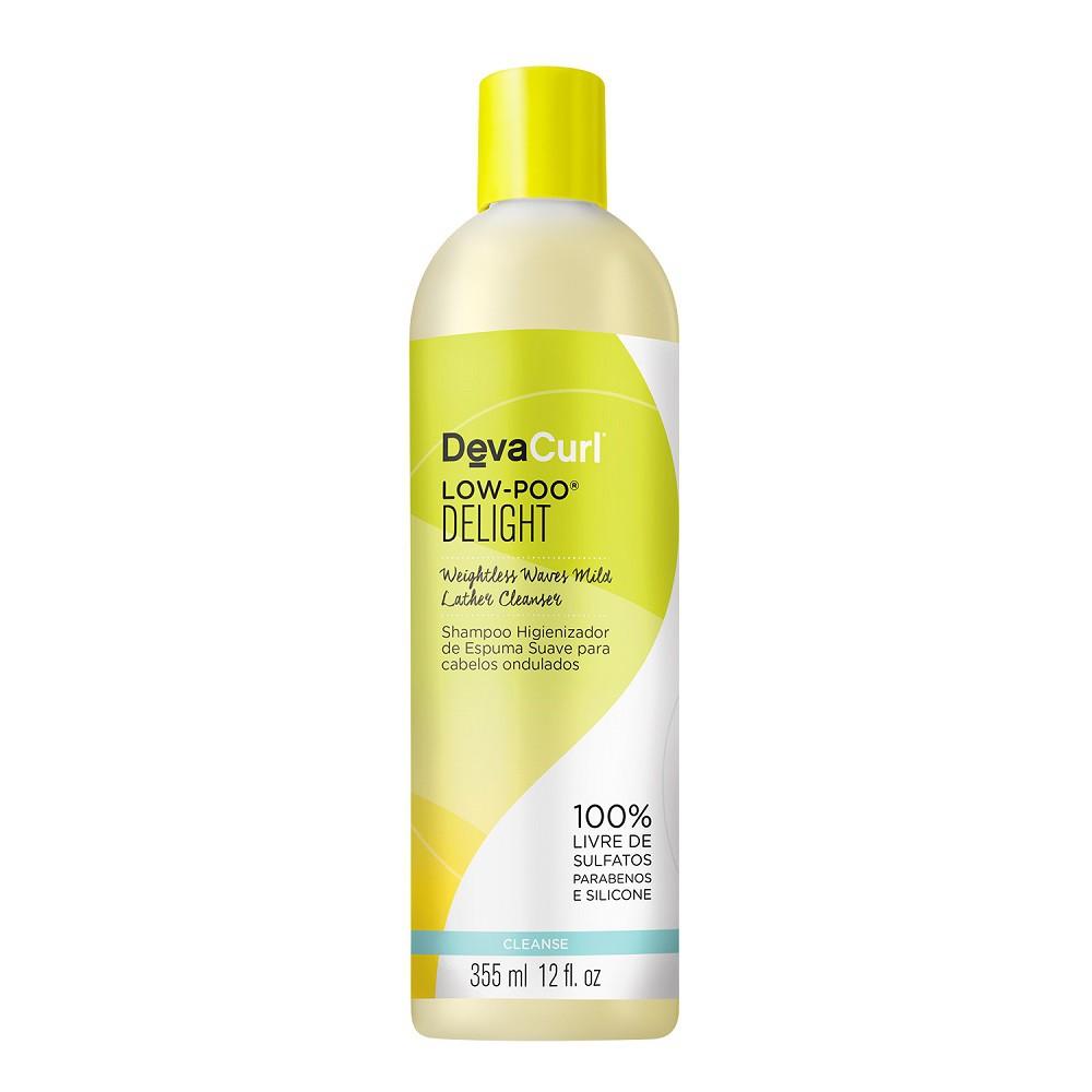 Kit Deva Curl Low Poo Delight e One Condition Original 2x355ml