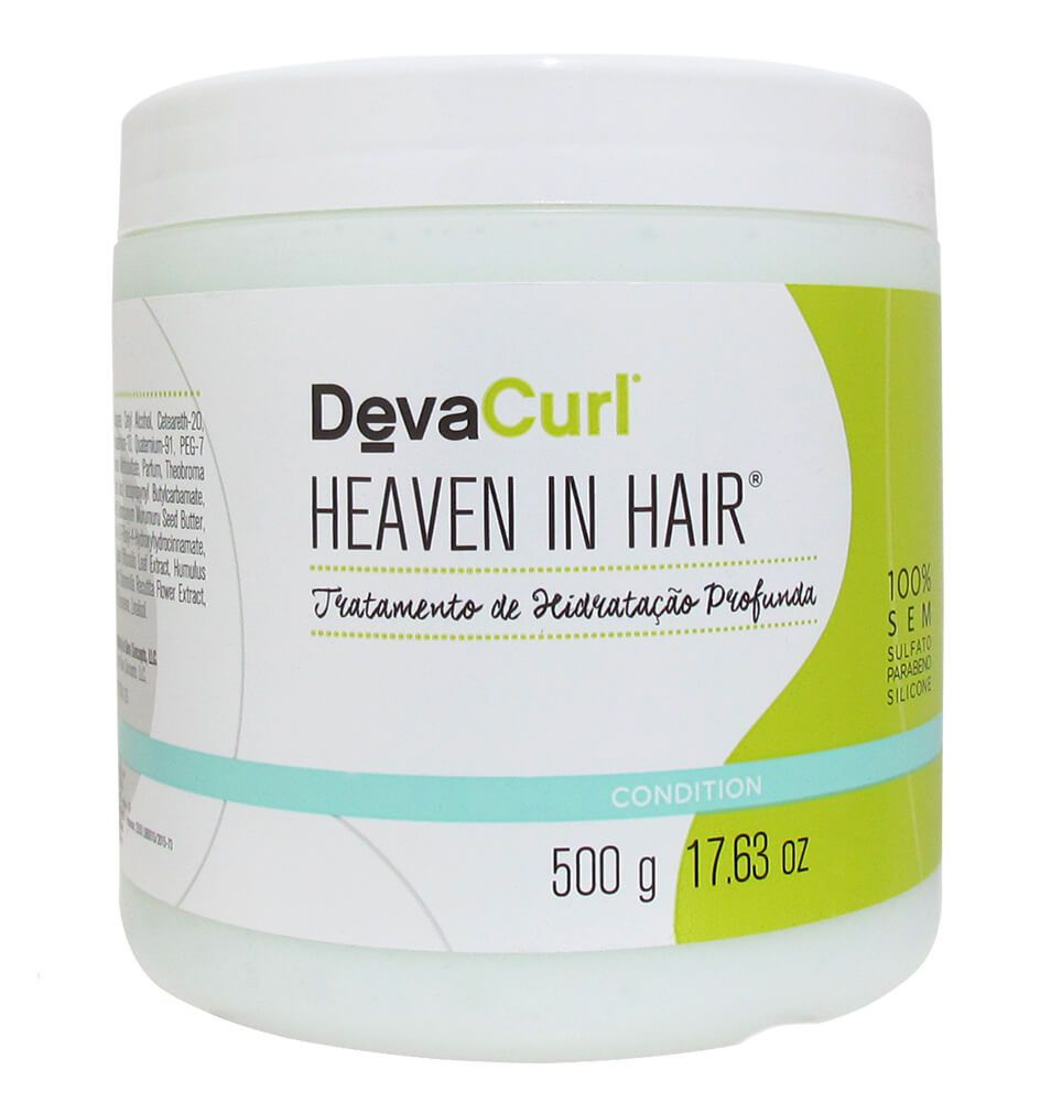 Kit Deva Curl Low Poo e One Condition 2x1000ml e Heaven in Hair 500g