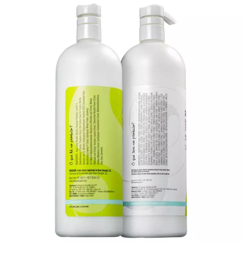 Kit Deva Curl No-poo E On Condition De1 Litro