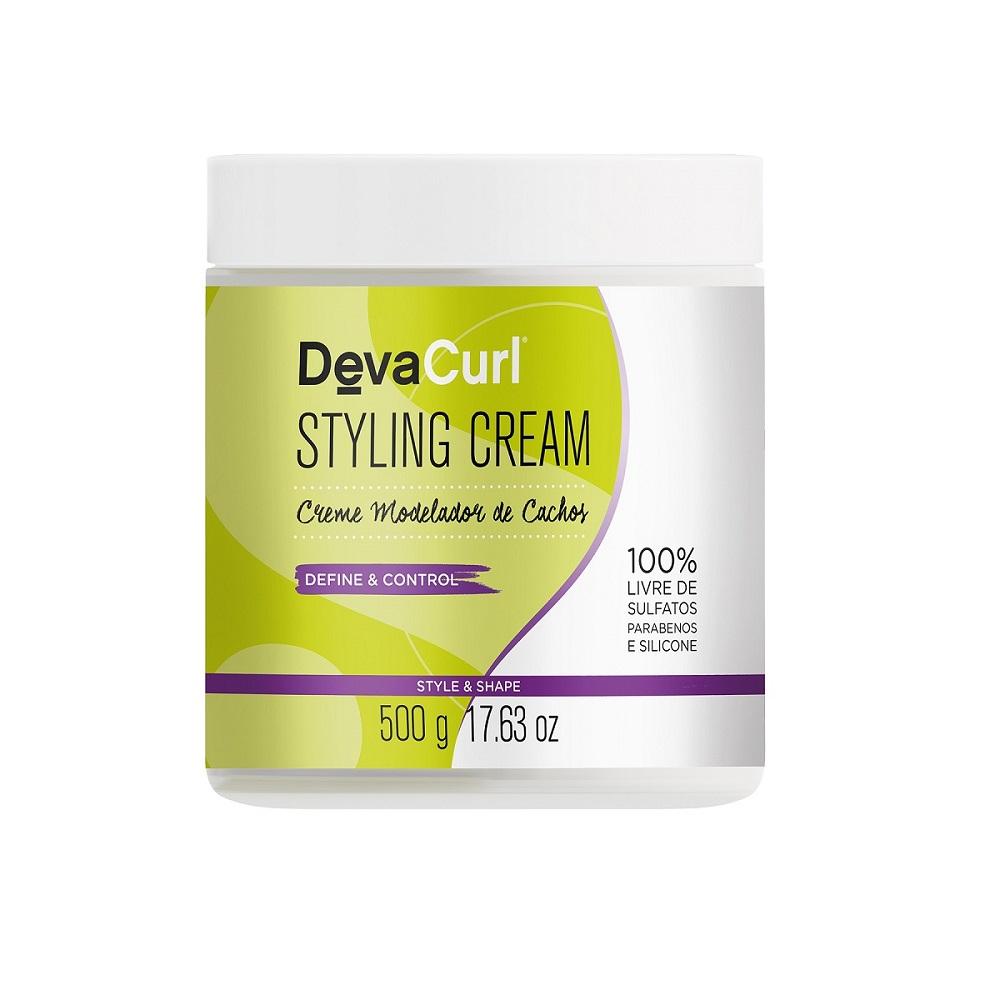 Kit Deva Curl One Condition 2x1000ml e Styling Cream 500g