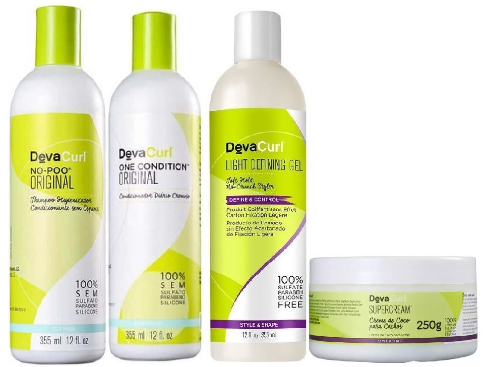 Kit Deva Curl SuperCream No Poo One Condition Angell