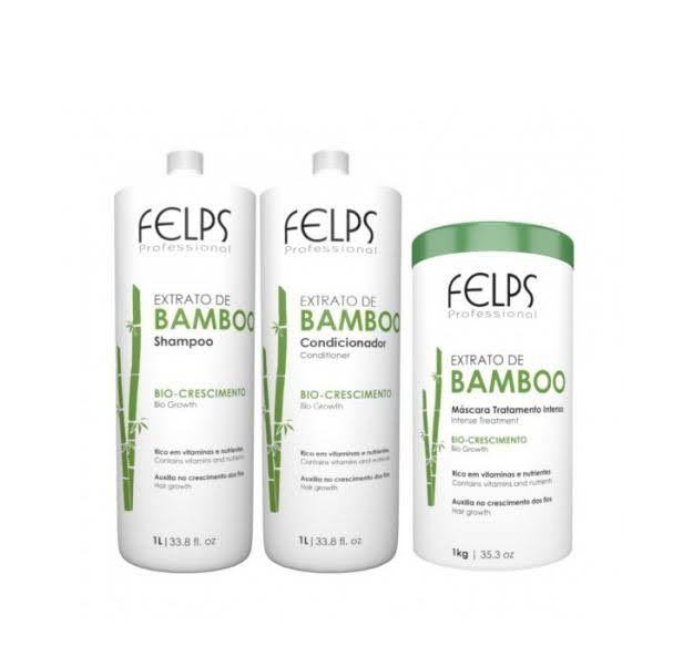 Kit Felps Profissional Extrato de Bamboo (3 produtos)