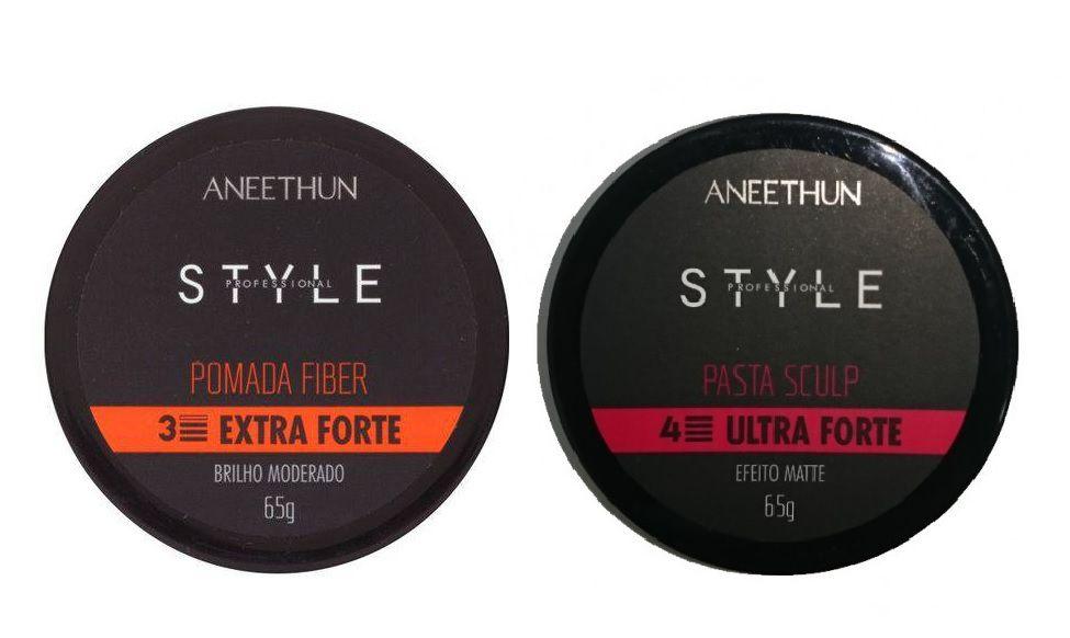 Kit Finalização Aneethun Style Extra Forte e Ulyta Forte 2x65g