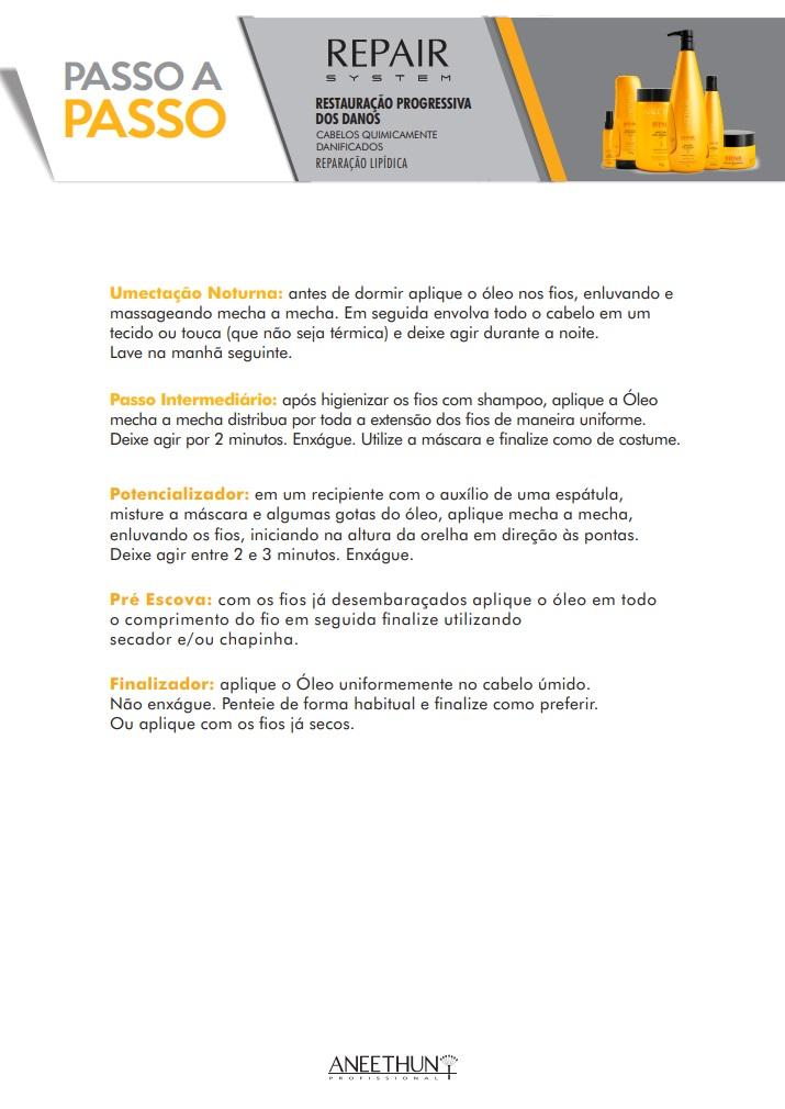 Kit Home Care Máscara e Finalizador Aneethun Repair System