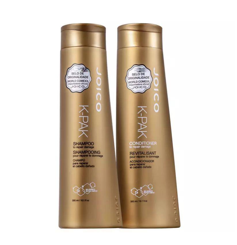 Kit Joico K-PAK Damage Shampoo e Condicionador 2 x300ml