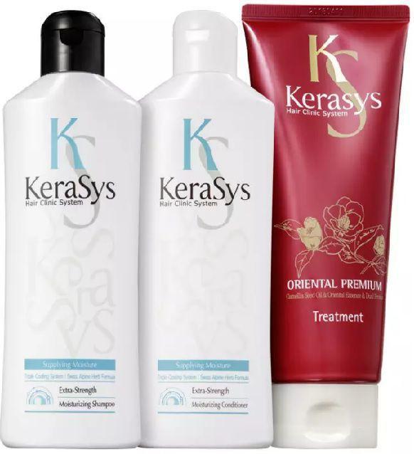 Kit Kerasys Moisturizing Tratamento (3 Produtos)