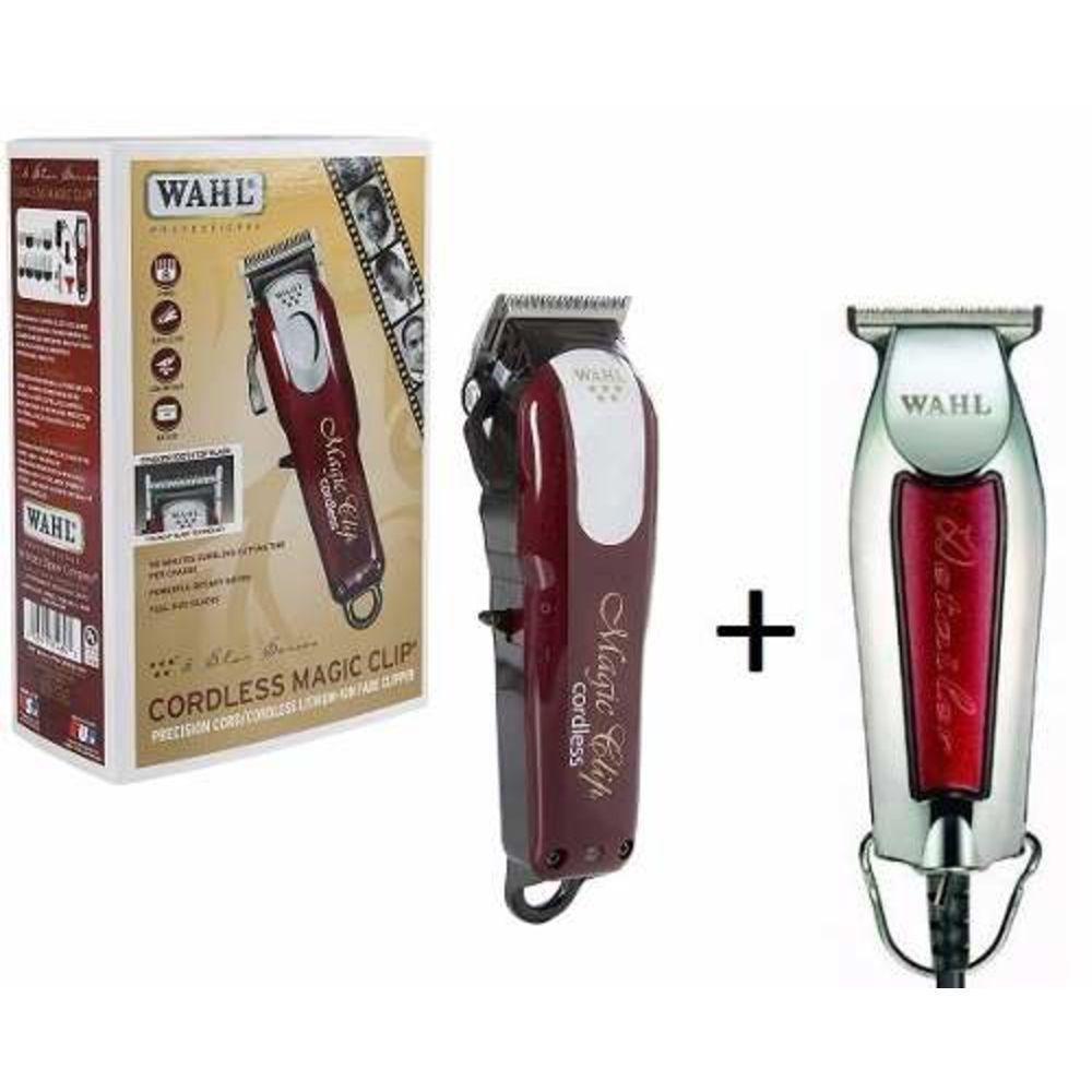 583cbf568 Kit Máquina Wahl Magic Clip Sem Fio + Wahl Detailer Bivolt - Empório do  Cabeleireiro