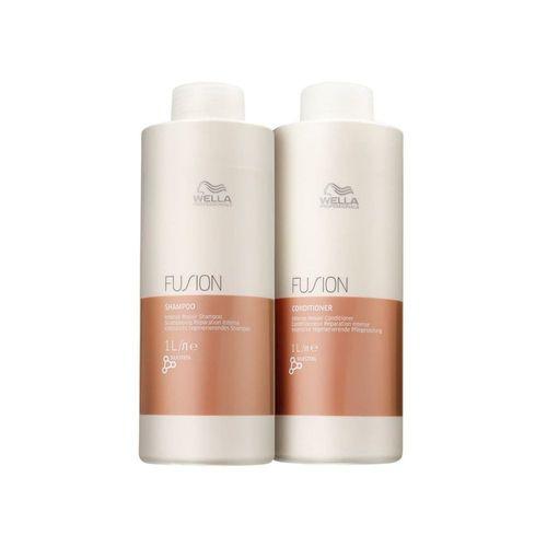 Kit Shampoo e Condicionador Wella Fusion 2x1000ml
