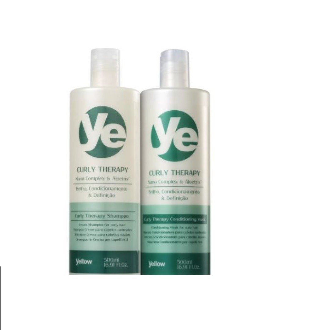 Kit Yellow Curly Therapy Duo (2 Produtos)