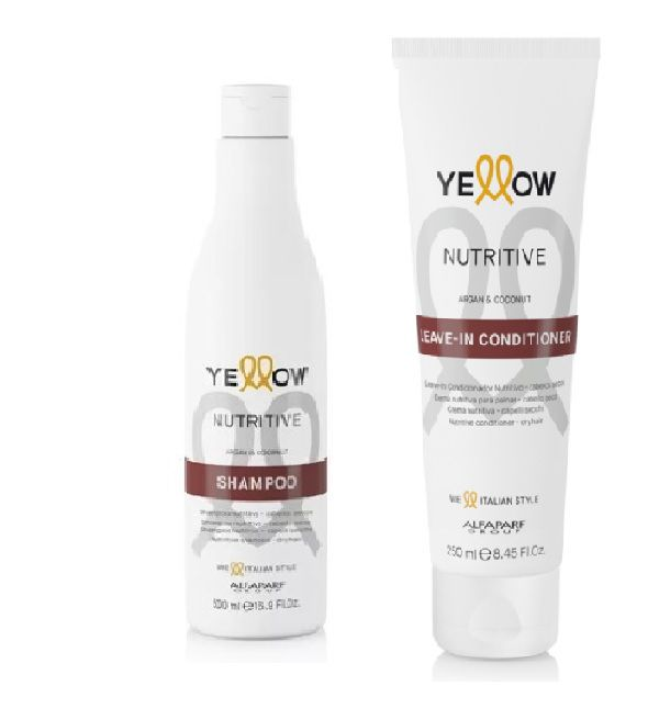 Kit Yellow Nutritive  Shampoo 500ml e Leave-in Conditioner 250ml