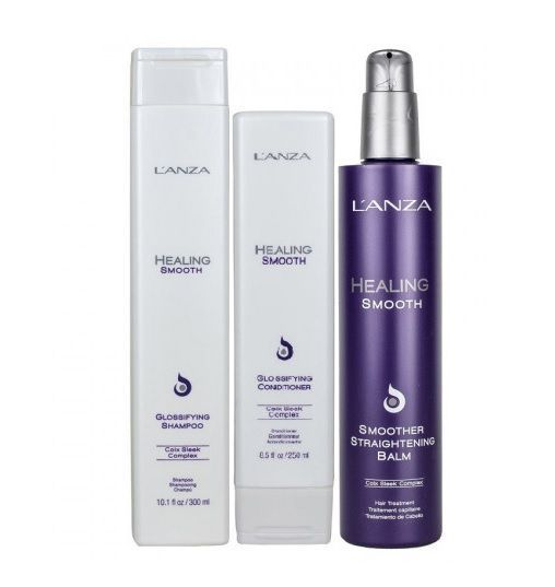 Lanza Healing Smooth Straight Kit (3 Produtos)