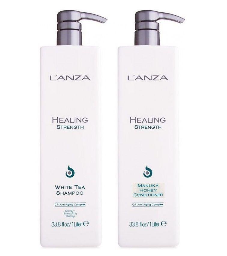 Lanza Shampoo E Condicionador Strength White Tea 1000ml