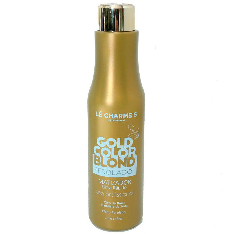 Lé Charmes Intensy Color Gold Color Blond Perolado 1000ml