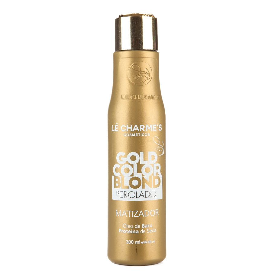 Lé Charmes Intensy Color Gold Color Blond Perolado 300ml