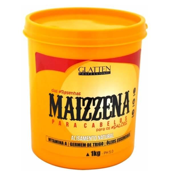 Maizena para Cabelos Alisamento Natural Glatten 1Kg