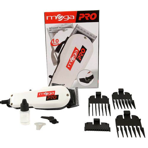 Máquina De Cortar Cabelo Profissional Mega Pro 110v