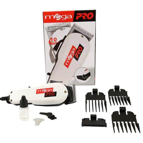 Máquina De Cortar Cabelo Profissional Mega Pro 220v