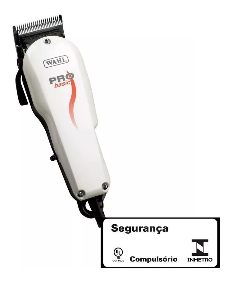 Máquina De Cortar Cabelo Profissional Pró Basic Wahl 220V