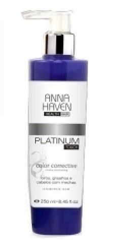 Mascara Anna Haven Platinum Touch 250ml