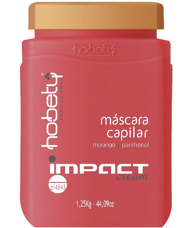 Máscara Capilar Hobety Impact Cream 1,250Kg
